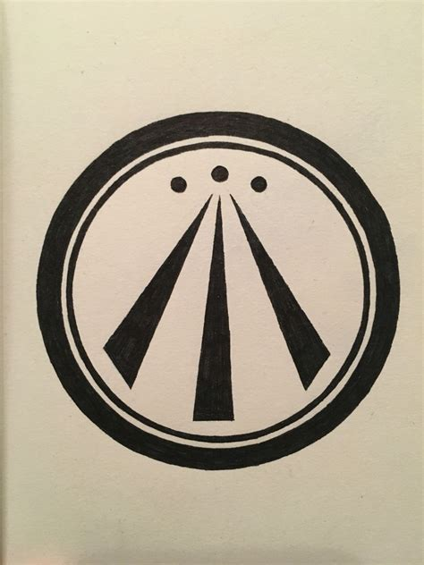 Awen, symbol of nature, inspiration, knowledge, truth
