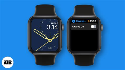 How to Turn off Always-On Display on Apple Watch Series 6