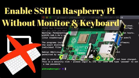 Enable SSH In Raspberry Pi Without A Monitor & Keyboard