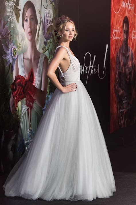 See Jennifer Lawrence's 'wedding dress' from all angles