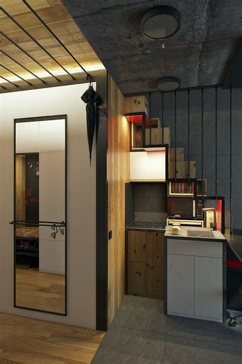 An 18-Square-Meter Microapartment That Is Surprisingly