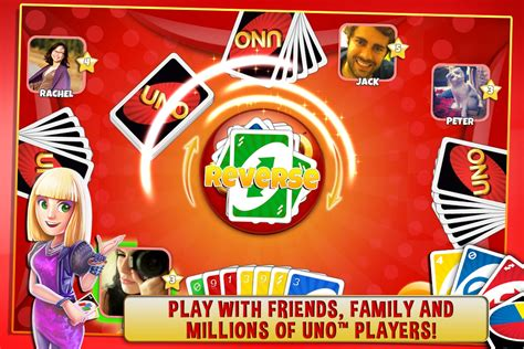 Play UNO & Friends The Classic Card Game Goes Social! Game