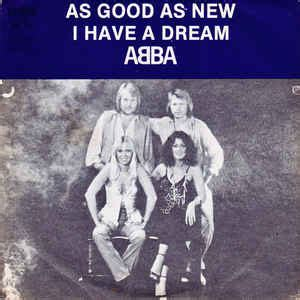 ABBA - As Good As New / I Have A Dream (1979, Vinyl)   Discogs