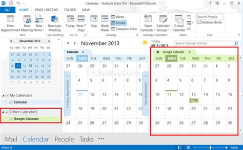 How to Add Google Calendar to Outlook 2013 – Google, Office