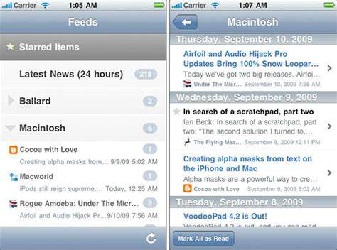 NetNewsWire update to bring RSS feed syncing to iPhone