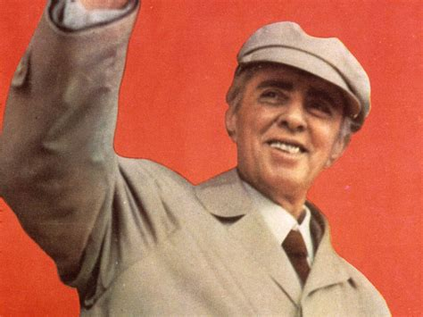 Enver Hoxha: Albanian dictator quoted by Jeremy Corbyn