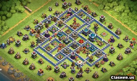 [Town Hall 13] Best TH13 Farming Base v38 [With Link] [11