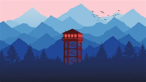 Watch Tower Minimal HD Wallpapers | HD Wallpapers | ID #21226