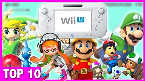 Top 10 Must Own Wii U Games (Exclusives) - YouTube