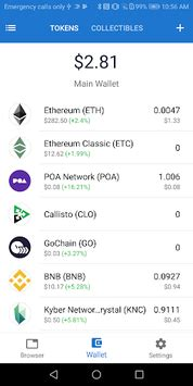 Trust - Ethereum & ERC20 Wallet for PC Windows or MAC for Free
