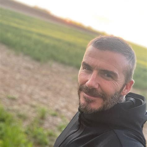 David Beckham Instagram: Nice to get out for an early
