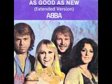 ABBA As Good As New Extended Version 2011 - YouTube