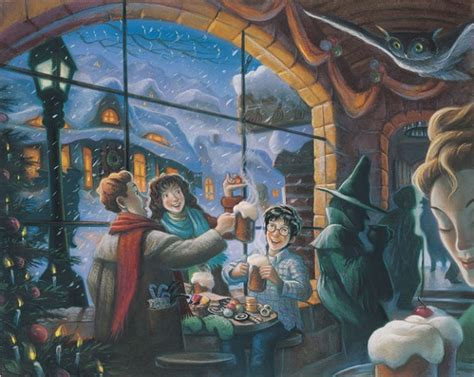 Previously Unpublished 'Harry Potter' Illustrations By