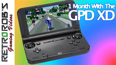 1 Month With the GPD XD - YouTube