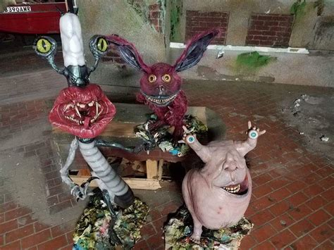 These 'Aaahh!! Real Monsters' Sculptures Will Send A