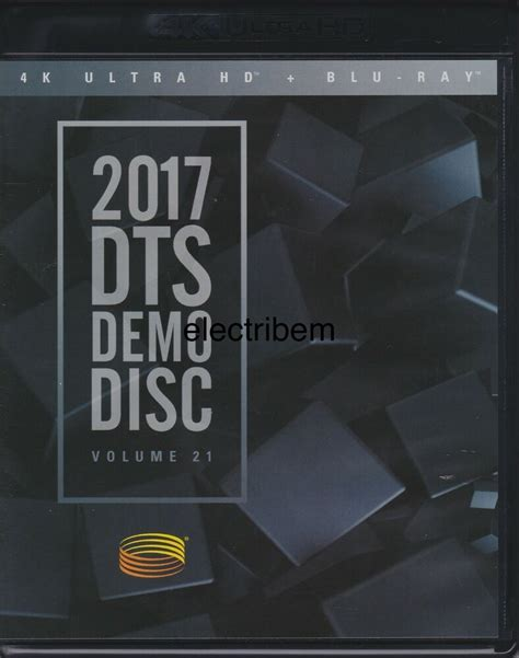 DTS X, DTS HD MASTER AUDIO 4KUHD DEMO DISC 2017 | Dolby