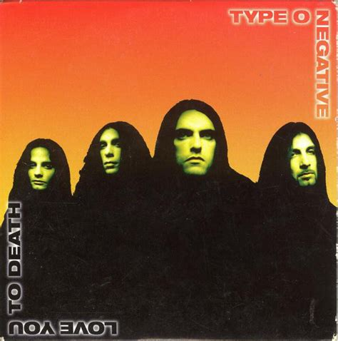 Type O Negative - Love You To Death (1996, CD) | Discogs