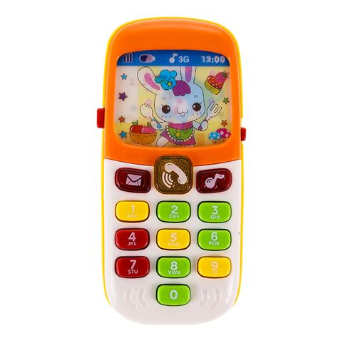 Kid baby Infant Music Early Learning Mobile Phone