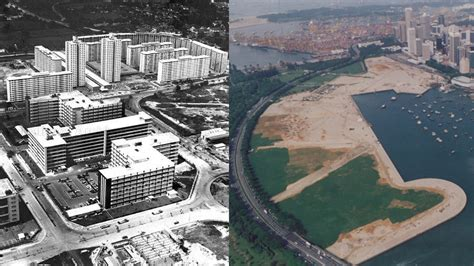 S'pore's land area expanded by 25% in past 200 years